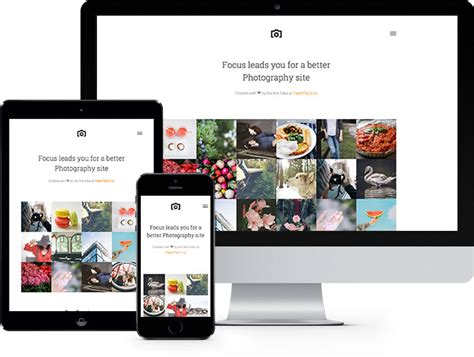 templates bootstrap photography shop free website template using bootstrap for ecommerce