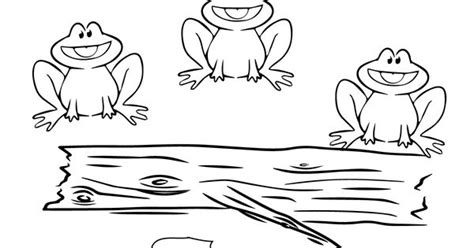 five speckled frogs coloring page five little speckled frogs coloring page supercoloring