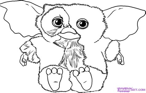 gremlins coloring page printable coloring pages