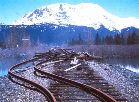 earthquake track topic railroad tracks history mualsambel