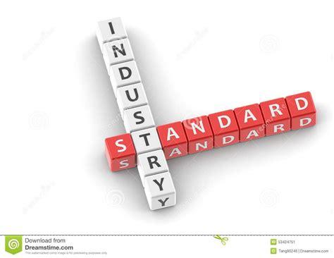 industry standard design setting the standard for buzzwords industry standard stock illustration image