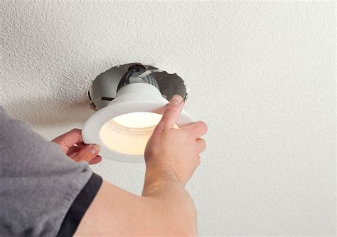 installing a bathroom light fixture how to fix recessed lights that fall down