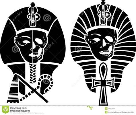 imagenes con simbolos face egyptian symbol of death royalty free stock photography