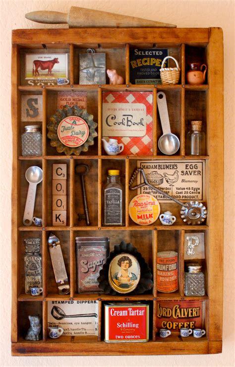 vintage items found object assemblage art vintage kitchen