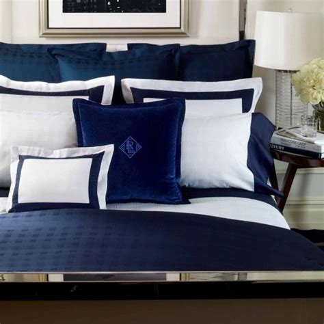 Ralph Blue And White Comforter Set by Ralph Comforter Sets On Clearance
