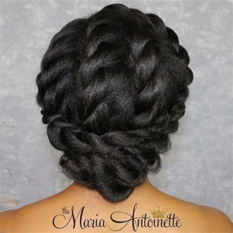 Black Twisted Updo Hairstyles by 50 Superb Black Wedding Hairstyles