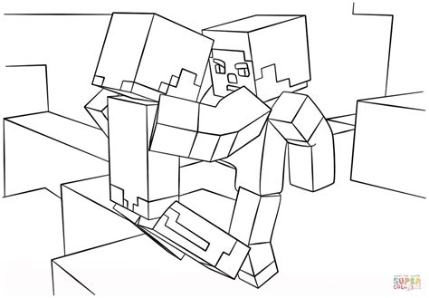 minecraft bat coloring page minecraft fight scene coloring page free printable