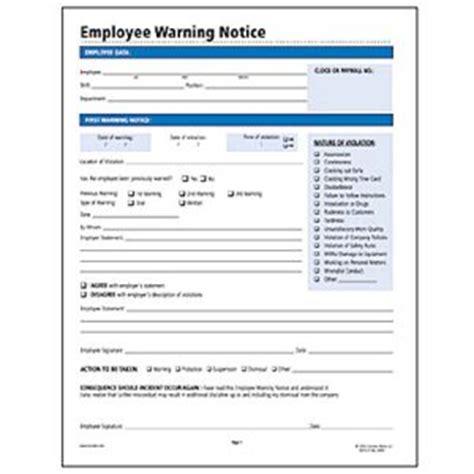 socrates employee warning notice form somhr114
