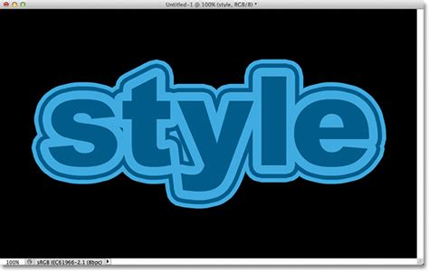 Black Outline Text Photoshop Cs5 by Text Strokes With Smart Objects In Photoshop