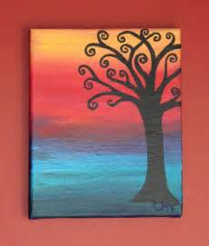 Ideas For Painting by 30 Easy Canvas Painting Ideas
