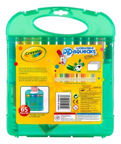 Crayola Washable Pip Squeaks Kit crayola markers colored markers crayola