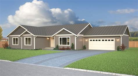 Rambler Home by Rambler Home Plans True Built Home Pacific Northwest