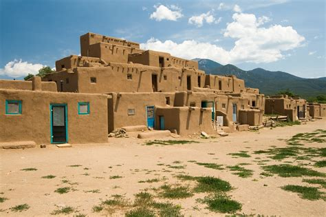 pueblo adobe houses taos pueblo historical facts and pictures the history hub
