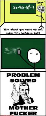 Problem Meme - how to solve the problem in the class room funny meme