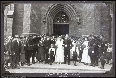 Wedding Album Germany by Newly Discovered Photo Album Shows S Rise To Power