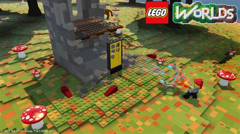 lego worlds ps4 xbox one nintendo switch codes tips guide unofficial books on getting creative with lego worlds on ps4 push