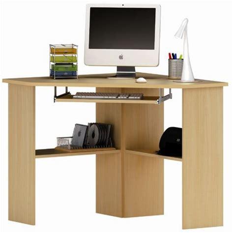 Corner Desk Beech Buy Demeyere Furniture Corner Desk In Beech From Our Office Desks Tables Range Tesco