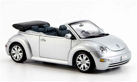 Diecast Miniatur Replika Volkswagen Beetle Rider volkswagen new beetle convertible gray metallized