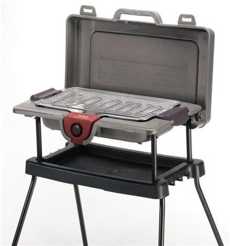barbecue electrique sur pied 2196 tefal bg703812 grill n pack sur pieds 2300w bg703812