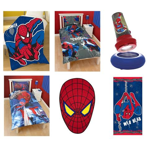 spiderman bedroom stuff spiderman doona covers bedding bedroom accessories new ebay