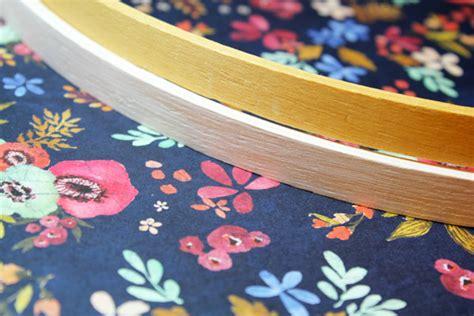 Welcome Sign Hoop wildflower embroidery hoop we r memory keepers