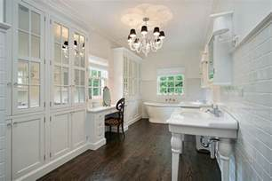 Hardwood Floors In Bathroom 32 Bathrooms With Floors