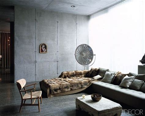 Lambris Plafond Salle De Bain 1991 by 23 Glamorous Interior Designs With Concrete Walls