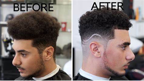 s curl with the a fade how to curl with just water curl cream insane