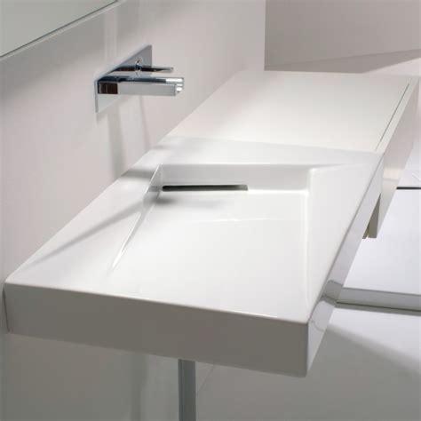 Garage Designer gsg ceramic design waschtisch oz mit ablaufschlitz