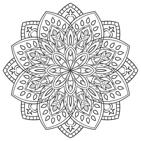 imagenes de mandalas para niñas m繝筍ndalas para colorear dibujos mandalas para imprimir