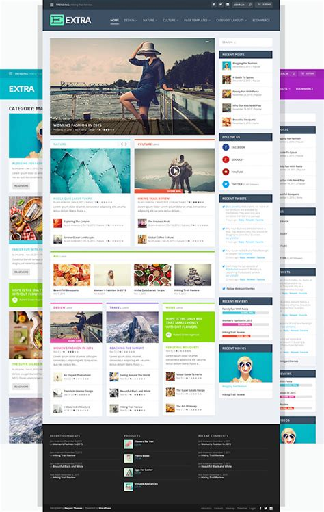 wordpress different layout for homepage 50 best news magazine wordpress themes for 2018