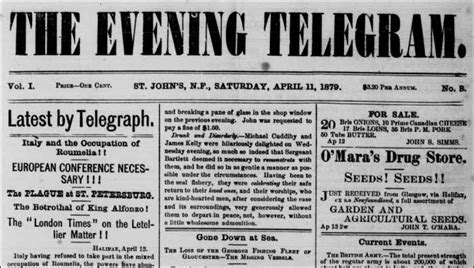 The Evening News Newspaper Newspapers 1879 2000