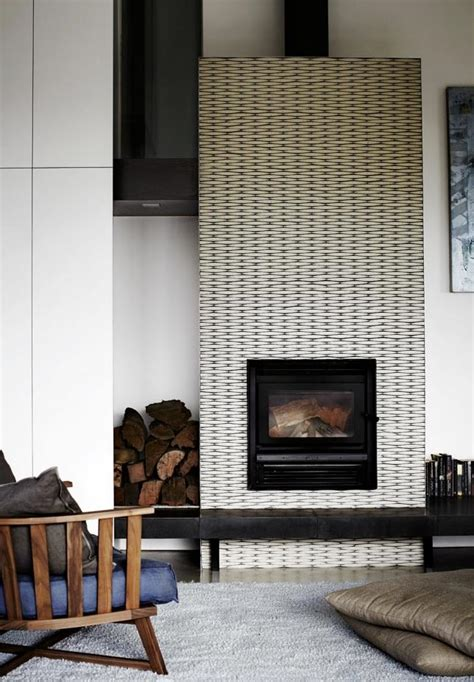 Black And White Fireplace Tiles by Spotlight On Black White Fireplaces The Havenly