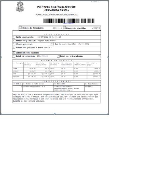 planilla 14 04 ivss planillas del seguro social 14100 01 libre deuda de patente