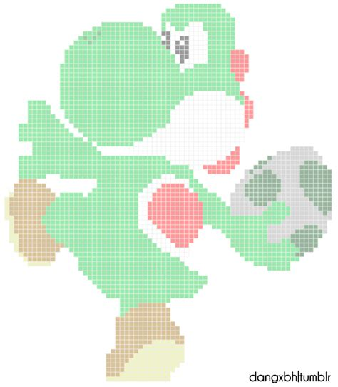 pixel character 6 yoshi by meowmixkitty on deviantart pixel yoshi by dangxbh on deviantart