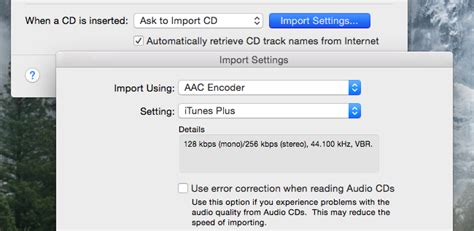 cd format bitrate how to rip audio cds to your pc or mac