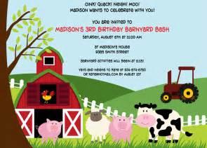 printable farm animals birthday invitation by cohenlane