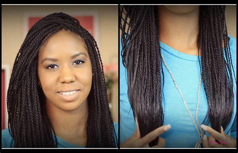 the best hair for senegalese twist ღ day 2 ღ 2014 hair growth journey my new twist how