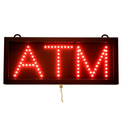 Sign Led Atm aarco atm led sign atm10s