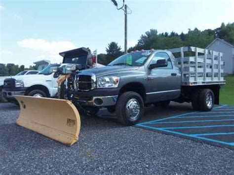dodge ram 3500 truck bed for sale buy used dodge ram 3500 4x4 flat bed stake body commercial