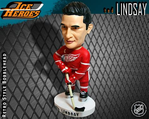 bobblehead auction ted lindsay detroit wings bobblehead nhl auctions