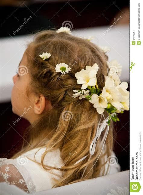 hair decoration with hair decoration royalty free stock photography