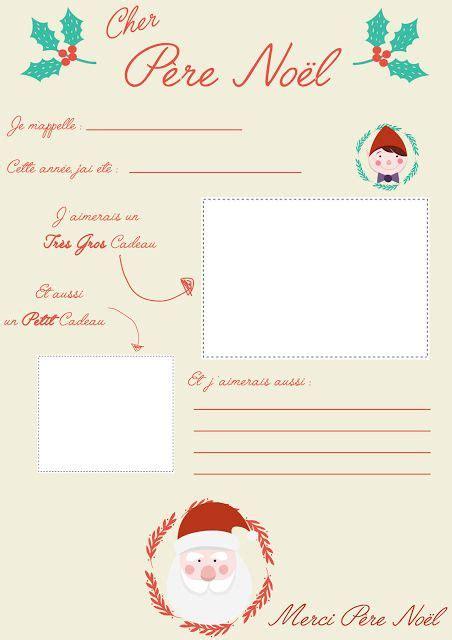 Modeles De Lettre Au Pere Noel printable lettres au p 232 re no 235 l 2 cr 233 amalice