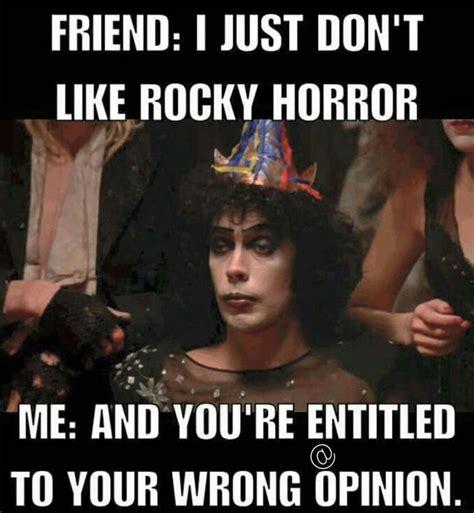 Horror Memes - rocky horror picture show meme horror memes pinterest