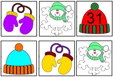 imagenes infantiles invierno calendario invierno rinc 243 n de infantil