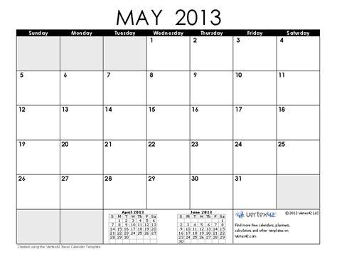 Calendar May 2013 May Calendar 2013 Gallery