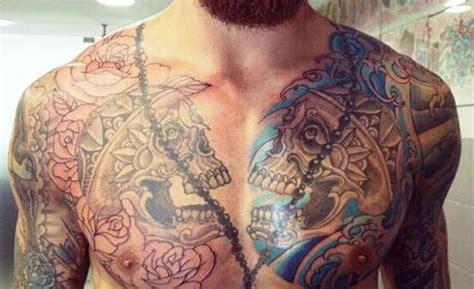 back tattoo tevez t 233 vez the most tattooed back in football photo