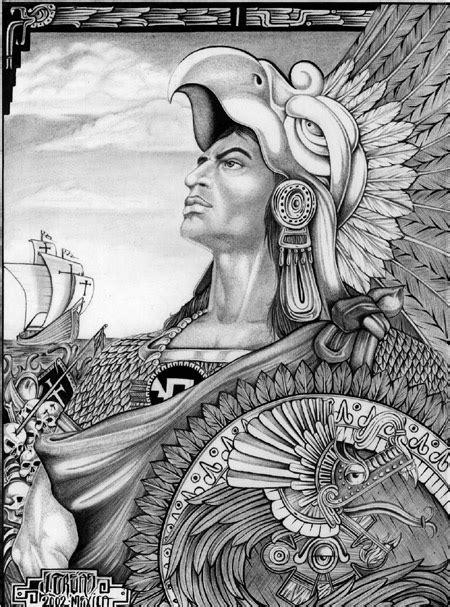 Aztec Warrior Original By Salxtai On Deviantart Aztec Warrior Sketches