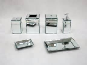 mirrored bathroom accessories sets bathroom mirrored bathroom accessories sets home