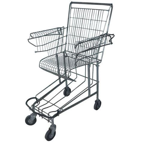 shopping cart chair diy shopping cart chair by tom sachs 3d